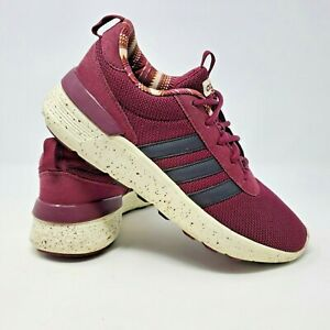 Details about ADIDAS NEO Ortholite Women's Burgundy Casual Skate Shoes Sz 6.5