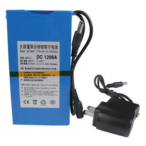 High-quality-New-DC-12V-Portable-9800mAh-Li-ion-Super-Rechargeable-Battery-Pack