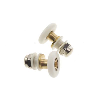 19mm 23mm 25mm 27mm Dia Shower Bath Door Rollers Runners Wheels Pulleys 2