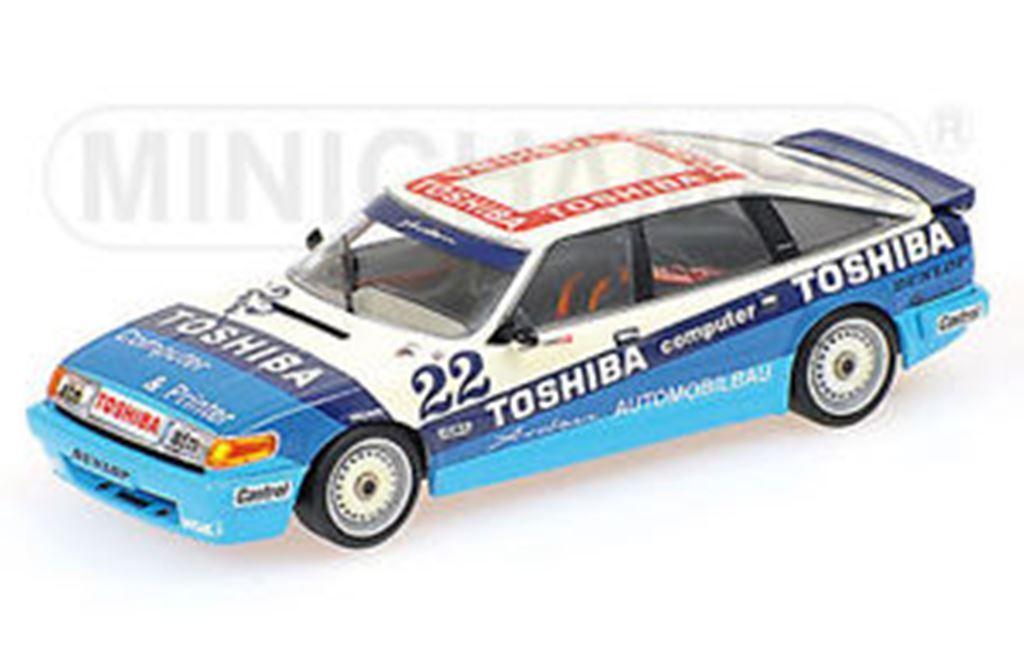 MINICHAMPS 861322 ROVER VITESSE model touring car Kurt Thilm DTM  1986 1 43rd