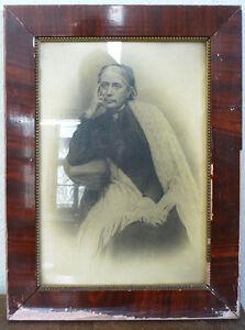 Decorative Arts Folded: Alter Grafikrahmen Um 1900 Mirrors