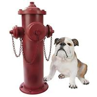 Design Toscano Vintage Metal Fire Hydrant Statue DC122012 Garden