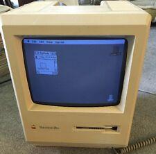 Apple Macintosh Plus Mac Model M0001A 1MB RAM, 800K Floppy Drive - Working!