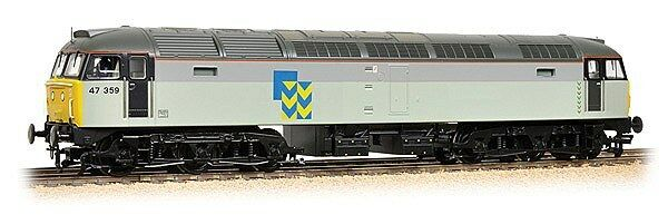 Bachmann Class 47 3 BR Railfreight Grey Metals Sector 31-662 - Free Shipping