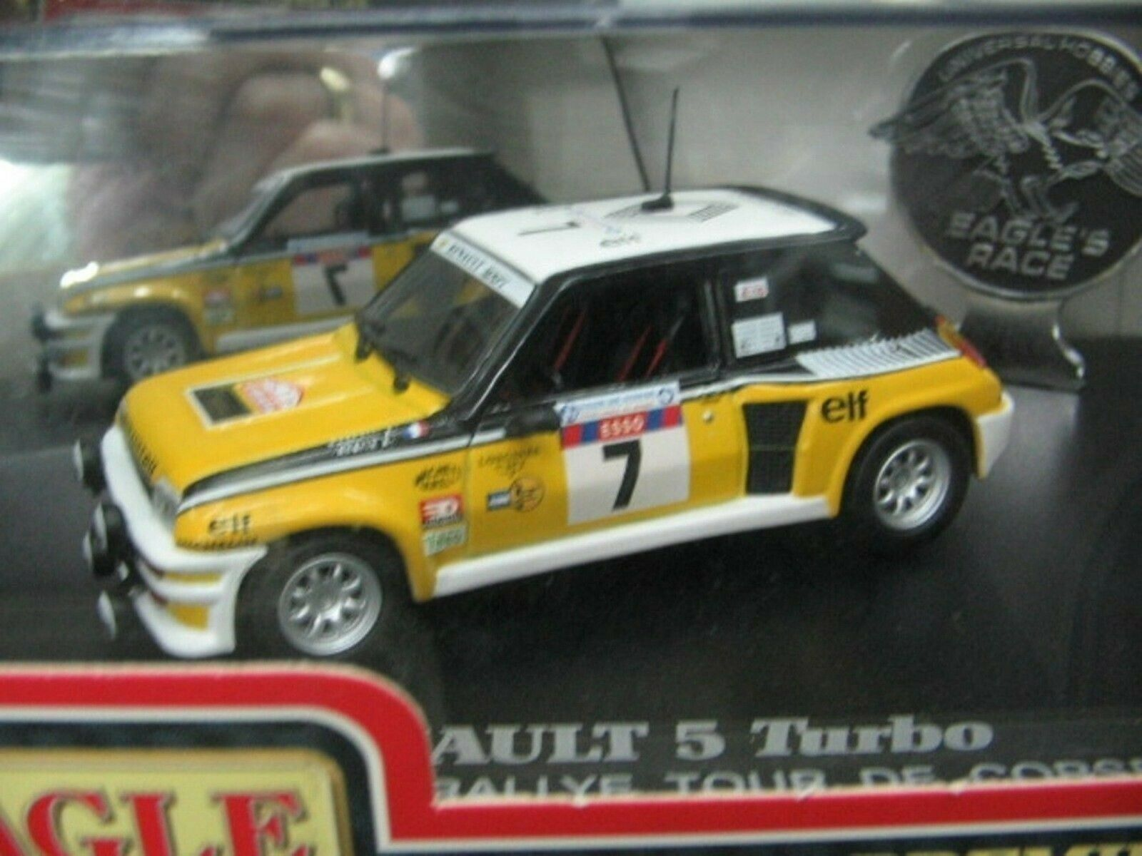 WOW EXTREMELY RARE Renault 5 Turbo WRC Ragnotti Td Corse 1982 1 43 UH-Spark