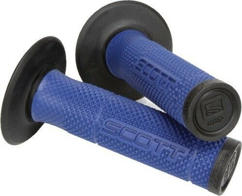 Scott USA 219625-1024 SX II ATV Grip Blue//Silver 219625-1024 17-6233 51-1292