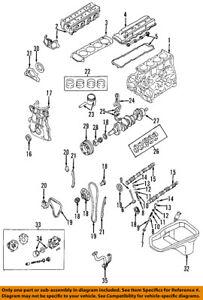 Details about NISSAN OEM 93-97 Altima-Engine Crankshaft Crank Main on