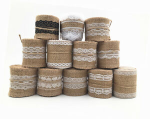 2M-Burlap-With-Lace-Natural-Hessian-Ribbon-Trim-Edge-Wedding-Rustic-width-5-6cm