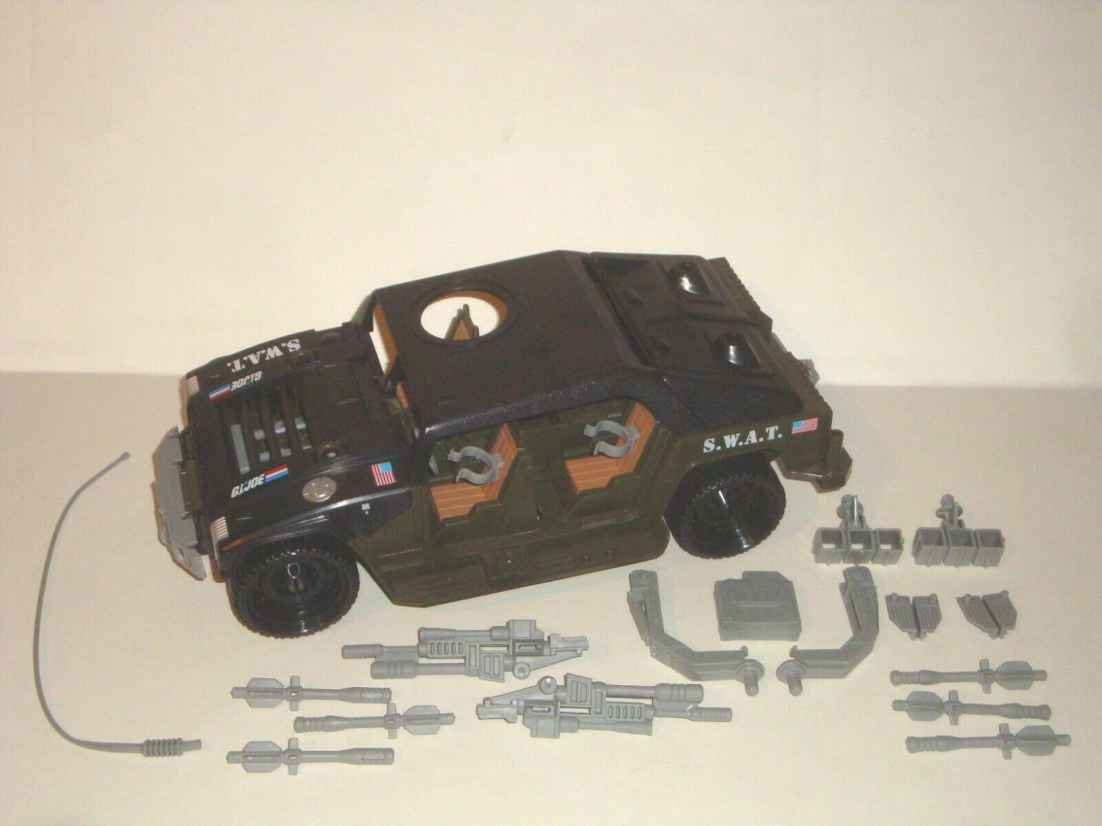 2008 S.W.A.T. R.T.V. - JOECON Hammer - 100% Complete GIJOE Vehicle