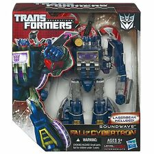 TRANSFORMERS GENERATIONS VOYAGER CLASS FALL OF CYBERTRON SOUNDWAVE FIGURE