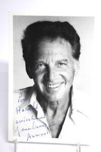 Original Autogramm Autograph JEAN PIERRE AUMONT Foto