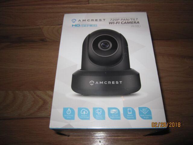 Amcrest IPM-721B 720P WiFi Wireless IP Security Surveillance Camera System HD
