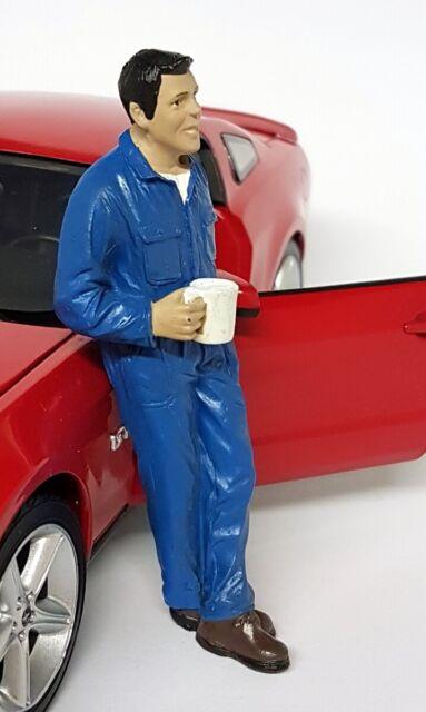American Diorama 1/18 Scale Larry Mechanic Break Polyresin figure model display