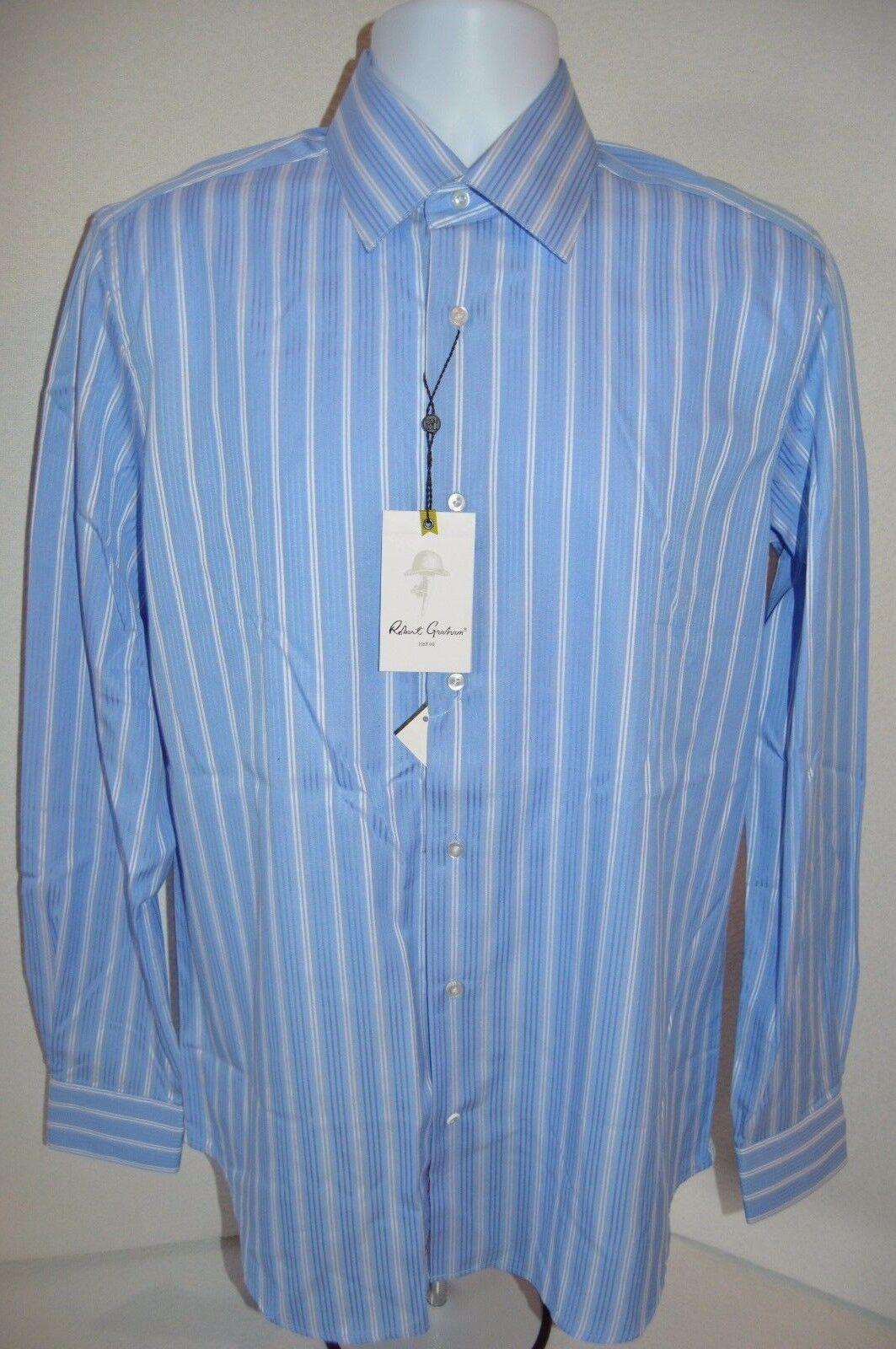 Robert Graham Herren Keith RC Kleid hemd Neu Größe 39 M Hals 15.5 Einzelverkauf