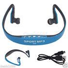 Wireless USB Stereo Sports Headset Earphone Portable MP3 Player WMA FM Radio Lot