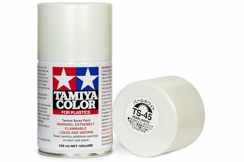 colore: Bianco Contenitore spray da 40 cc TAMIYA 74524 in plastica