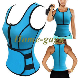 Girls Neoprene Sauna Waist Trainer Vest Hot Shaper Sweat Belt Fajas Body Corset
