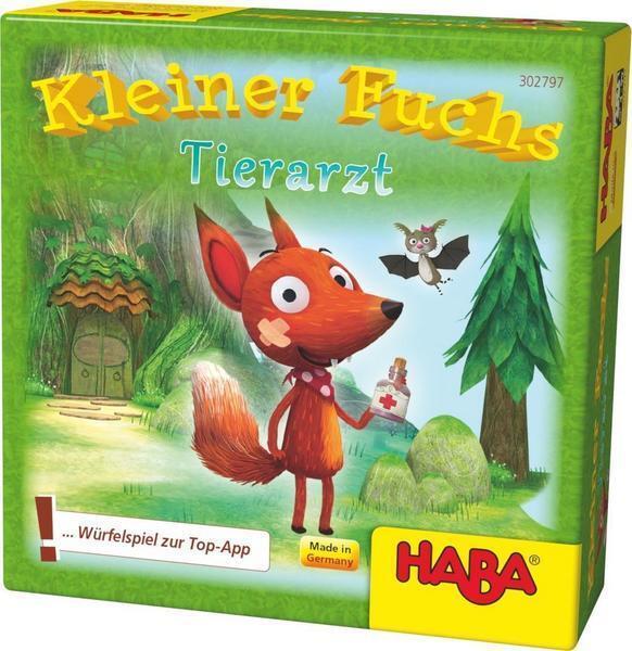 HABA 302797 - Kleiner Fuchs Tierarzt - Würfelspiel