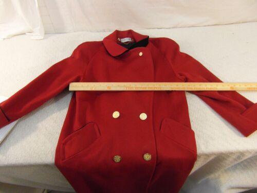 Trench Rød Ashley Voksen Sort Scott Coat 100 Button Wool Liner Kvinder 33775 qawwz7g4t