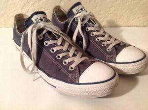 Details zu Men's Converse Chuck Taylor All Star OX Sneakers M9697 Navy Canvas Men 11Wom 13