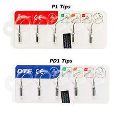 Woodpecker Dental Ultrasonic Scaler Tips Set P1 Pd1 For Satelec Ems Handpiece