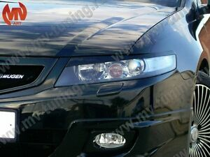 Front Eyelids Eyebrows Headlight Cover For Honda Accord Vii 7
