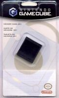 Official Nintendo Gamecube Memory Card 251 16mb Genuine Factory Sealed Brand