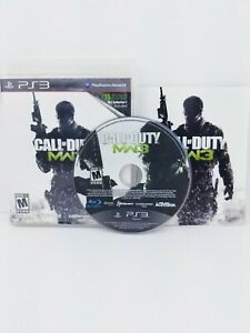 Call Of Duty Modern Warfare 3 Playstation 3 PS3, Tested, Complete with Manual
