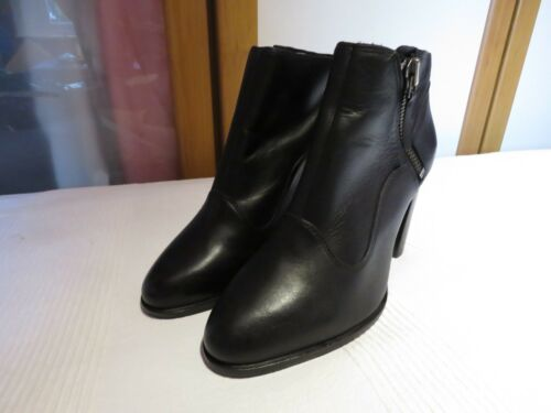 5 6 Usa 39 Boots Leather Ugg® Dolores Rrp Black Australia Ankle Eur £160 8 Uk qxxTAH8