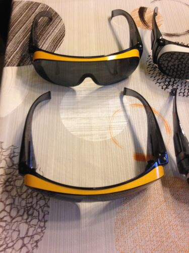 Sonnenbrille Überbrille 100 km//h ohne tränende Augen