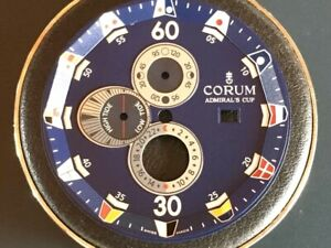 Cadran Corum Admiral's Cup, Bleu