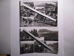 2x Jonsdorf- Kurort,  V 11 28 A 1/B 358/65 12/2372 und Zittauer Gebirge