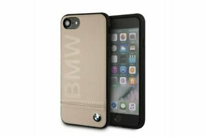 BMW-Signature-Leder-Schutzhuelle-iPhone-7-iPhone-8-Back-Case-Cover-Beige