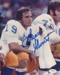 LANCE-ALWORTH-SAN-DIEGO-CHARGERS-SIGNED-AUTOGRAPHED-8X10-PHOTO-JSA-SOA