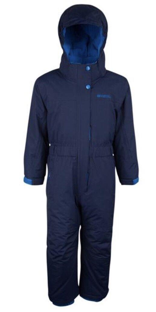 6b45b0d58450 Mountain Warehouse Cloud All in 1 Kids Snowsuit - Waterproof ...