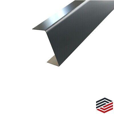 ähnl RAL 7016 Endstück für Mauerabdeckung Attikaabdeckung 1,0mm Alu Anthrazit