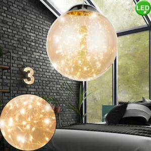 Decken Design Hänge Lampe Chrom Kugel Leuchte Flur Strahler Küchen Beleuchtung