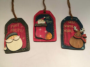 Festive-Set-of-3-Wooden-Bottle-Luggage-Tags-by-Sass-amp-Belle