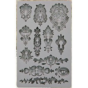 VINTAGE ART DECOR Mold Moulds for Crafters Clay Paper Crafting PRIMA 815301 NEW