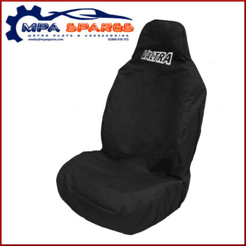 BLACK VALTRA BRANDED HEAVY DUTY EMBROIDERED FRONT SEAT COVER