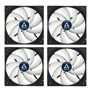 4-Pack-Arctic-F12-PWM-4-pin-High-Performance-120mm-PC-Case-Cooling-Fan-6Yr-Wrnty