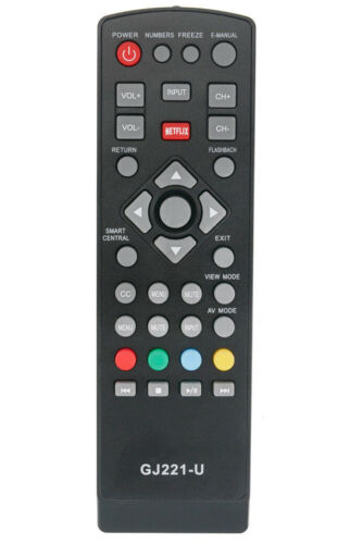 GJ221-U Remote Control for Sharp TV 1502225 C LC-43UB30U LC-50UB30U