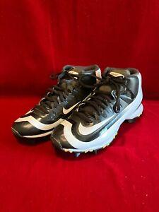 Desarmamiento Libro Mal  Nike Youth Chico 3Y Huarache 2 kfilth Keystone Botines de béisbol  Negro/Blanco Cal Usado En Excelente Condición   eBay
