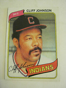 Details About 1980 Topps 612 Cliff Johnson Baseball Card Good Cond Gs23 13