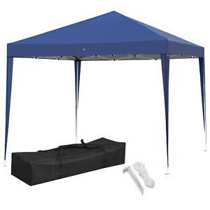 10x10 Portable EZ Pop Up Canopy Garden Gazebo Wedding Party Tent Outdoor Patio