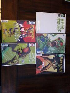 DC-Comics-Martian-Manhunter-9-issue-lot-1-7-full-run-with-variants