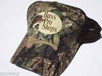 Camo Cap By Bass Pro Shops Adult Unisex Mesh Style Mossy Oak Hat