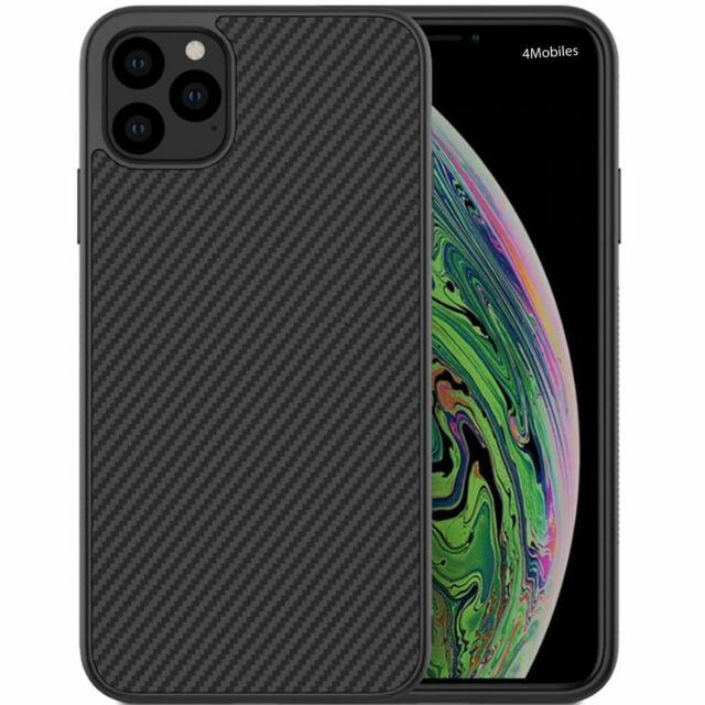 Hülle für iPhone 7 8 7+ 8+ Plus Handy Hülle Schutz Case Cover Carbon Look + Glas