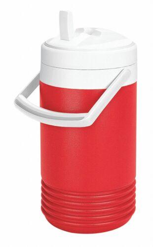 Boisson Carafe Igloo plastique 1.0 Gal environ 3.79 L rouge brillant glace rétention jusqu /'à 2 jours