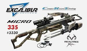 Details about NEW 2017 Excalibur Matrix Micro 335 Realtree Xtra Lite-Stuff  Crossbow Package